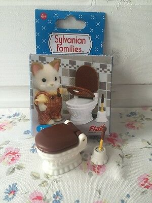 BOXED Sylvanian Families Luxury Loo/Toilet for Bathroom