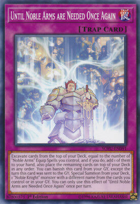 3x Yugioh SOFU-EN091 Until Noble Arms are Needed Once Again Common 1ST ED NM