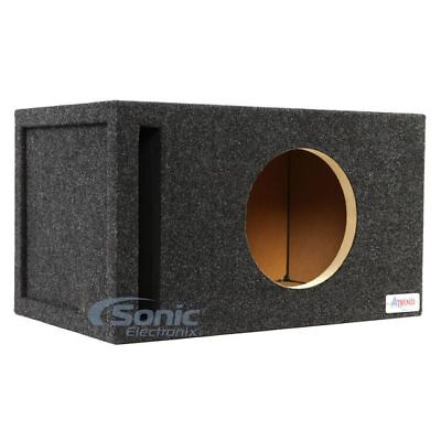 """Atrend 10W7SV 10"""" Vented Enclosure w/ 1"""" Baffle for JL Audio 10W7 Car Subwoofers"""