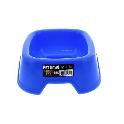 K9 Homes Plastic Small Bowl Blue Tough Durable Easy To Clean Convenient