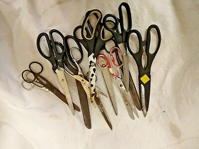 12 assorted pairs of scissors