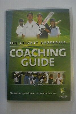 - The Cricket Australia Coaching Guide [Pc Cd-Rom] Brand New [Now $29.75]