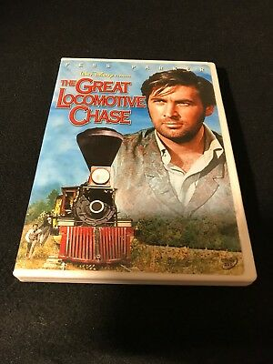 The Great Locomotive Chase (DVD, 2004)