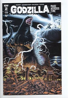 Godzilla Rage Across Time #2 Subscription Variant (IDW, 2016) VF