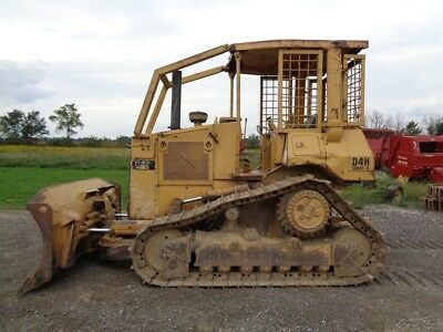 1992 CAT D4H II Dozer, OROPS,PowerShift, 6-way-Blade, 7,089 Hrs