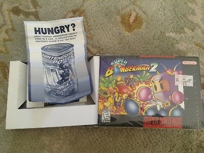 (No Game)  SNES-Super-Bomberman-2-Nintendo Box and tray Only