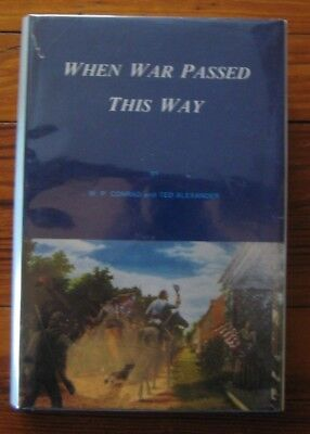 Civil War Book - When War Passed This Way, Cumberland Valley, Signed by Author