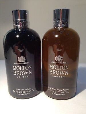 Molton Brown Russian Leather Bath & Shower Gel Black Peppercorn Christmas Gift
