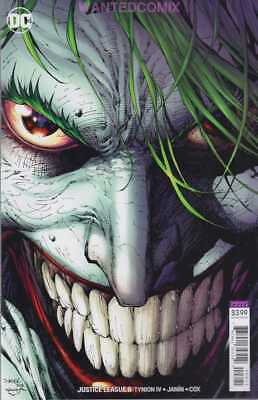 Justice League #8 Jim Lee Joker Variant Cover Jla Batman Lex Luthor New 1