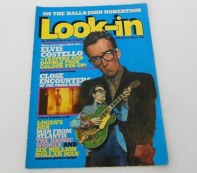 Look In Magazine #16 1978 Elvis Costello Close Encounters Of The Third Kind