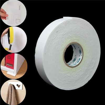 White Heavy Duty Sticky Self Adhesive Double Sided Tap Sticker Strong Foam Tape
