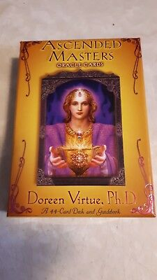 Ascended Masters Oracle Cards Doreen Virtue 44 Cards And Guidebook 2007