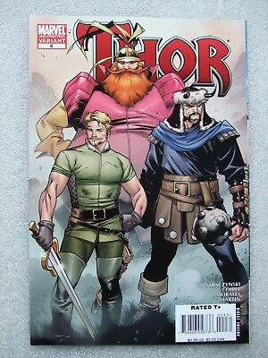 Thor  #4  2nd Print Variant cover. NM
