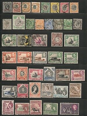 Classic Africa 95 issues 6 countries Mostly Used CV $80 (2016) 2 scans