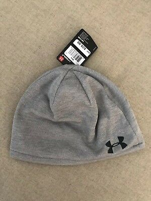 Under Armour Men s Golf Infrared Beanie Gray UA Storm ColdGear Winter Hat 5b4ca2456de