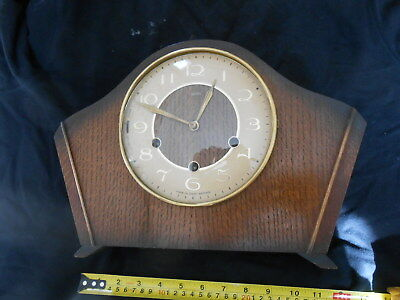 Smiths Mantle Clock - Westminster Chime with Pendulum and original key