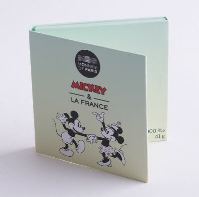 Frankreich 50 Euro 2018 - Mickey Mouse - Silber