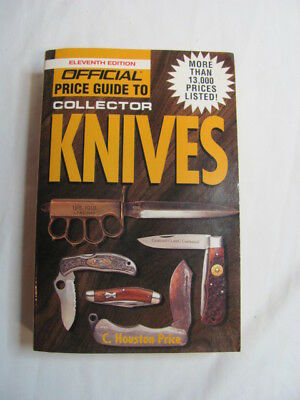 The Official Price Guide to Collector Knives