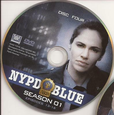 NYPD Blue (DVD) Season 1 Disc 4 Replacement Disc U.S. Issue!