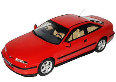 Opel Calibra Coupe Rot 1989-1997 Nr 172 1/18 Otto Modell Auto mit oder ohne in..