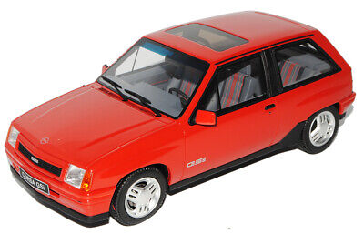 Opel Corsa A GSI Rot 1982-1993 Nr 180 1/18 Otto Modell Auto mit oder ohne indi..