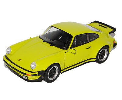 Porsche 911 Turbo 3.3 Weiss Coupe G-Modell 1973-1989 1//18 Norev Modell Auto mi..