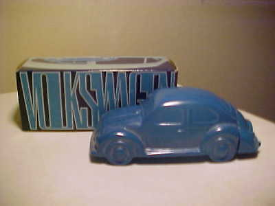 Vintage Avon Empty Decanter Volkswagen in Box had O'land Aftersave