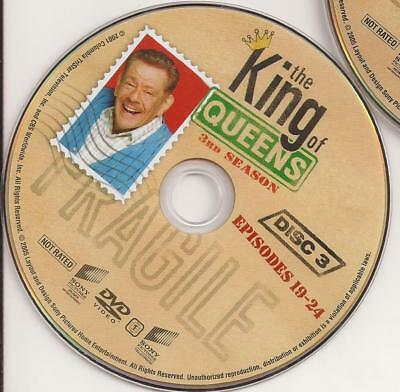 The King of Queens (DVD) Third Season 3 Disc 3 Replacement Disc U.S. Issue!