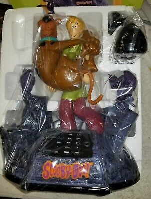 SCOOBY DOO & SHAGGY ANIMATED TALKING TELEPHONE PHONE with Sounds Lights. NIB (F8