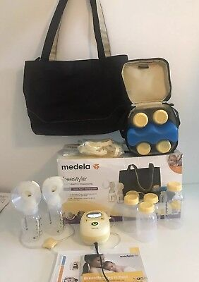 Medela Freestyle Double Electric Breast Pump Mobile/Hands-free/Rechargeable