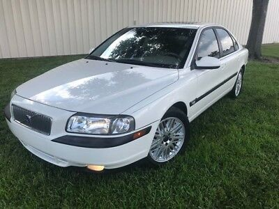 2001 S80 T6 Executive 2001 Volvo S80 T6 Executive  Clean Florida 70K LOW Mileage NO RESERVE AUCTION