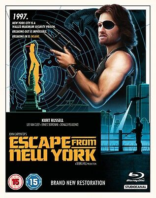 Escape from New York (Restored) [Blu-ray]