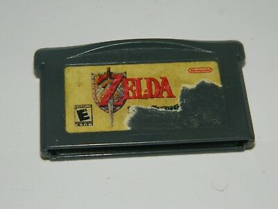Legend of Zelda: A Link to the Past Four Swords Game Boy Advance GBA worn