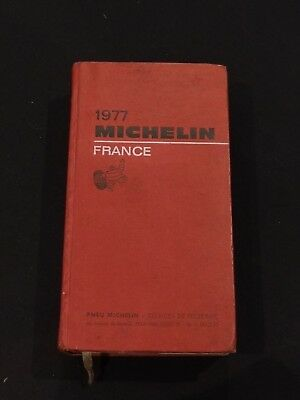 Guide Michelin France 1977 -rouge
