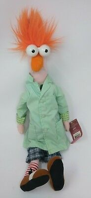 "Jim Henson Disney Muppet Show BEAKER 18"" Plush Toy NEW WITH TAG Sababa Toys"