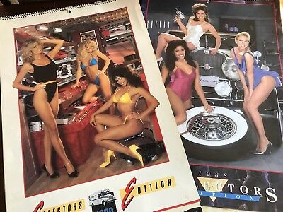 Vintage 1988 1989 Snap On Tools Pin up Girl Calendar Swimsuit Pinup Cheesecake