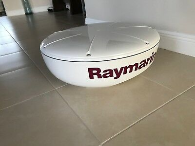 "Raymarine RD424 4kw 24"" radome radar CLEAN with WARRANTY!"