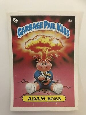 171 x Garbage Pail Kids Stickers 1985 Onwards Inc Adam Bomb
