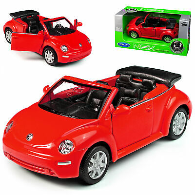 VW Volkswagen Beetle New Coupe Ab 2011 Grau ca 1//43 1//36-1//46 Welly Modell Aut..