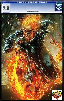 Cosmic Ghost Rider 4  Maxx Lim  Marvel Battle Lines Variant CGC 9.8 FAST TRACKED