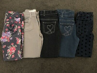 Bulk Lot Girls Jeans Size 7 - Various Brands