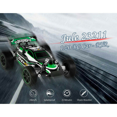 Jule 23211 1:20 Scale 2.4GHz 2WD 20km/h High Speed Off-Road Brushed RC Car - RTR