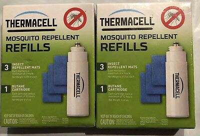 2-  ThermaCell Mosquito Repellent 12 hour Refill Pack Free Shipping