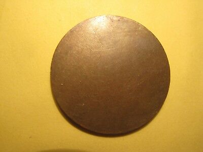 HEADS No TAILS Undated Halfpenny