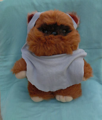 Star Wars Rotj Large Kenner Original Large Plush Wicket Ewok With Cape 1983