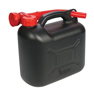 Silverline 199991 Tanica in Plastica per Carburante, 5 L, Nero (3UZ)