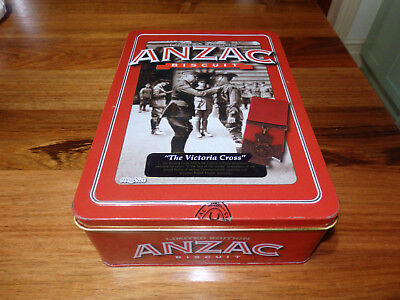 "Unibic Anzac biscuit tin . "" Victoria Cross "". 2013"