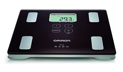 Omron BF214 Body Composition Fat Monitor Scale Measure Body Fat & Muscle % + BMI