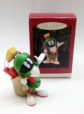 Hallmark Marvin The Martian Ornament 1996 Looney Tunes