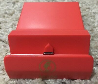 Genuine Nintendo Switch Dock Red (Converted to Mini Dock)
